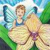 Blumen, Orchidee, Elfen, Illustrationen