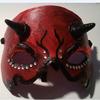 Teufelsmaske, Acrylmalerei, Worbla, Karneval