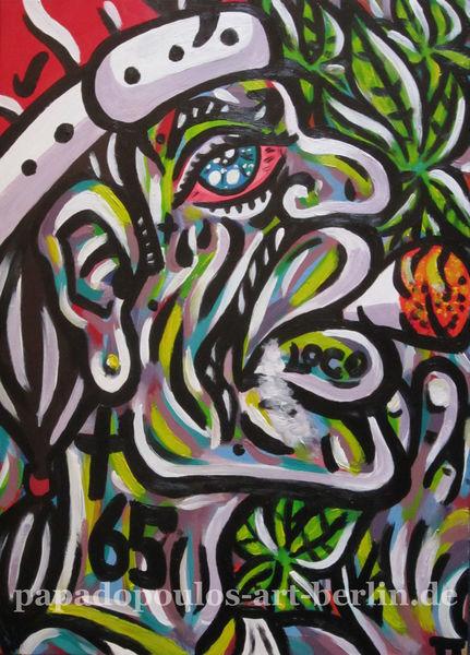 Weizen, Farben, Graffiti, Gelenk, Gangster, Dunst
