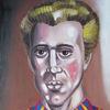 Blond, Mann, Pulover, Portrait