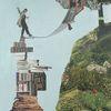 Menschen, Kirschbaumblüte, Buch, Berge