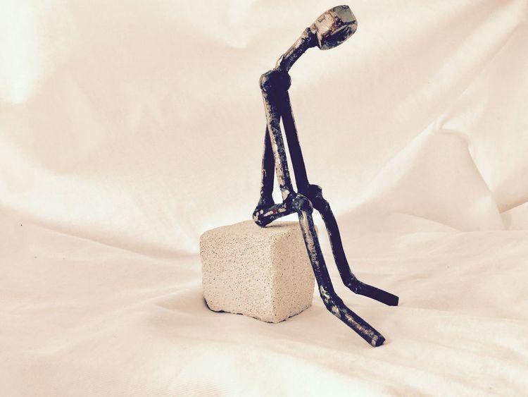 Metall, Skulptur, Abstrakt, Kunsthandwerk
