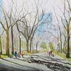 Menschen, Stadtlandschaft, Baum, Stadt