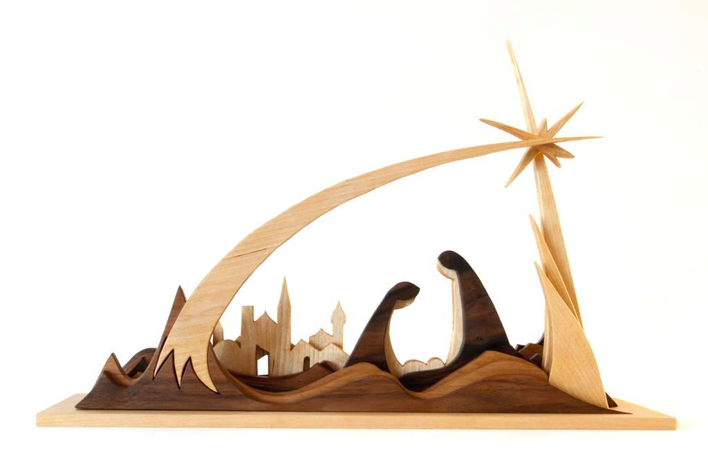 bild weihnachtskrippe krippe nativity scene weihnachten von christoph langeder bei kunstnet. Black Bedroom Furniture Sets. Home Design Ideas