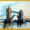 Turm, Reichtum, Gold, Tower bridge