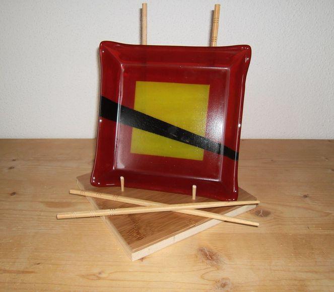 Glas, Schale, Fusing, Glasschale, Kunsthandwerk