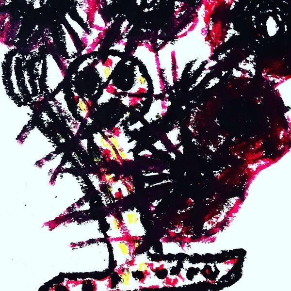 Augen, Mund, Hände, Malerei
