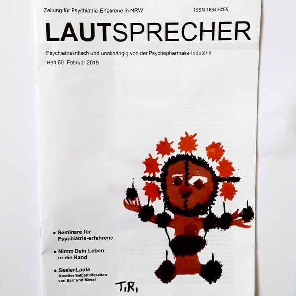 Psychiatrie, Kuckucksnest, Outsider art, Pinnwand