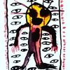 Hände, Outsider art, Augen, Malerei