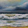 Meer, Wasser, Malerei, Landschaftsmalerei