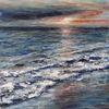 Landschaftsmalerei, Brandung, Stimmung, Wasser