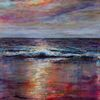 Stimmung, Licht, Küste, Meer