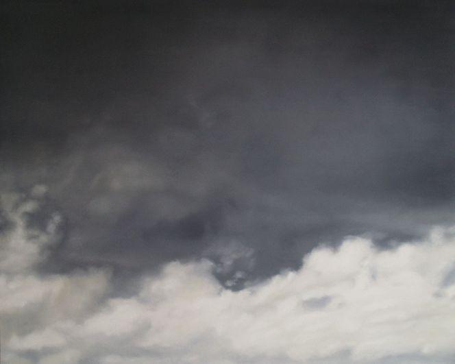 Wolken, Gegenständlich, Malerei, Landschaft, Himmel