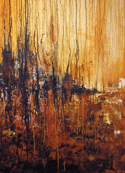 Tod, Landschaft, Licht, Tag, Gemälde, Sterben
