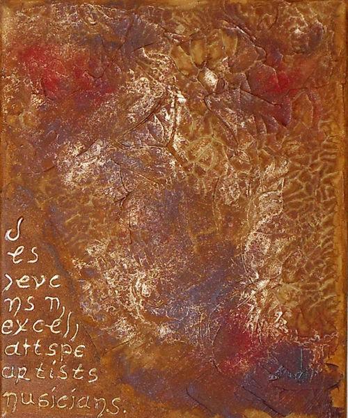 Abstrakt, Malerei, Mischtechnik