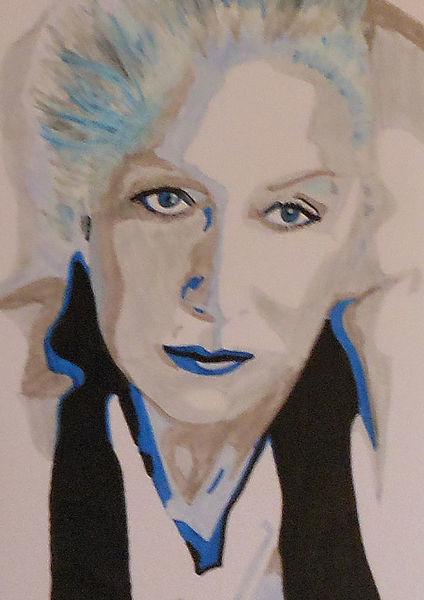 Malerei, Portrait, Helen mirren