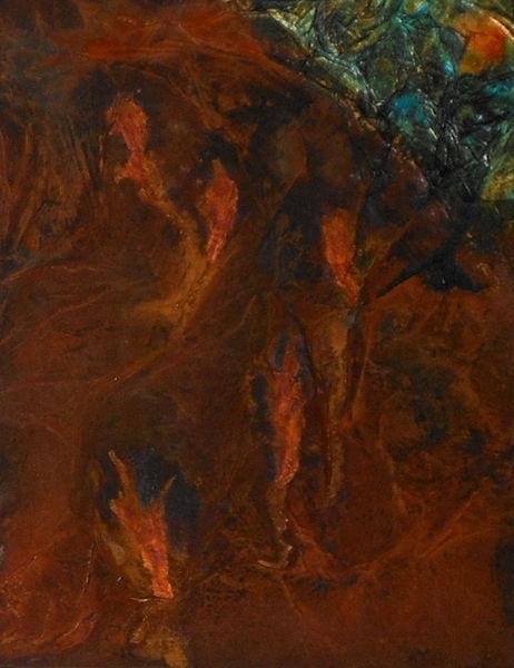 Farben, Abstrakt, Rost, Rosteffekte, Spuren, Patina
