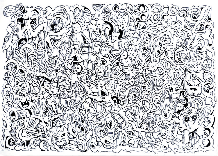 Thz, Surreal, Zeichnungen,