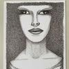 Frau, Ausdruck, Skizze, Zeichnungen