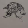 Spiegelung, Bleistiftzeichnung, Glanz, Zeichnung