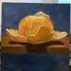 Gemälde, Mandarine, Obst, Stillleben