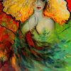 Stimmung, Farben, Acrylmalerei, Fantasie