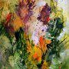 Blumen, Wiese, Hummel, Pflanzen
