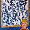 Hexenhaus, Blau, Hänsel, Mädchen