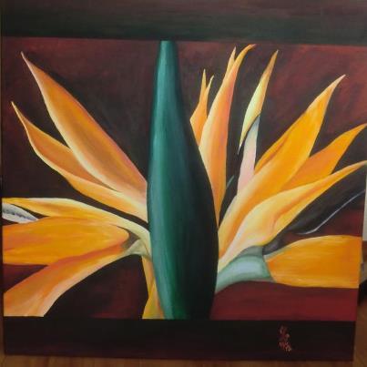 Blüte, Malerei