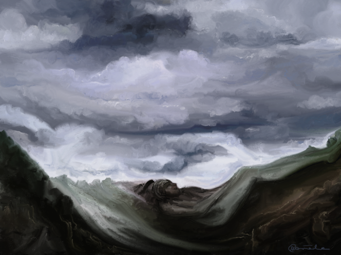 Fantasie, Traum, Malerei, Digitale kunst