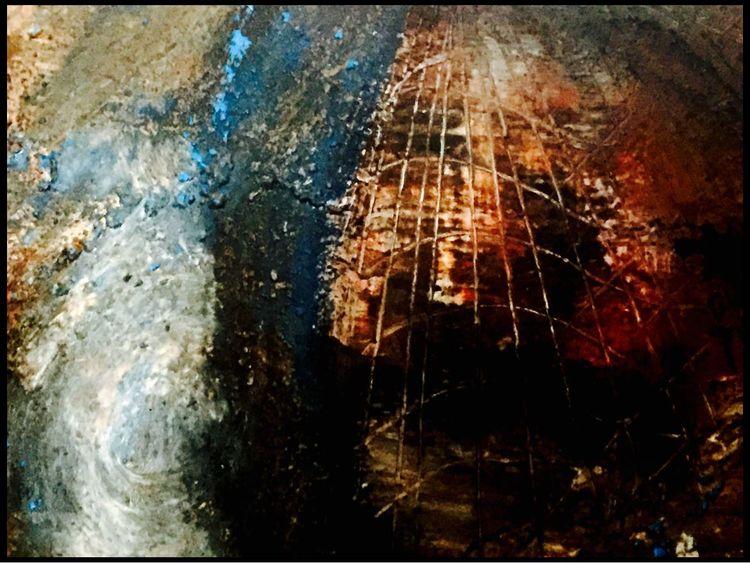 Symbolik, Acrylmalerei, Fantasie, Schlaf, Scheinbar, Malerei