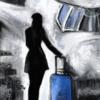 Frau, Fantasie, Reise, Fliegen