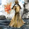 Fantasie, Wasser, Blumen, Digitale kunst