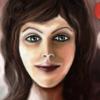 Frau, Fantasie, Gesicht, Digitale kunst