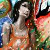 Mädchen, Fantasie, Bunt, Farben
