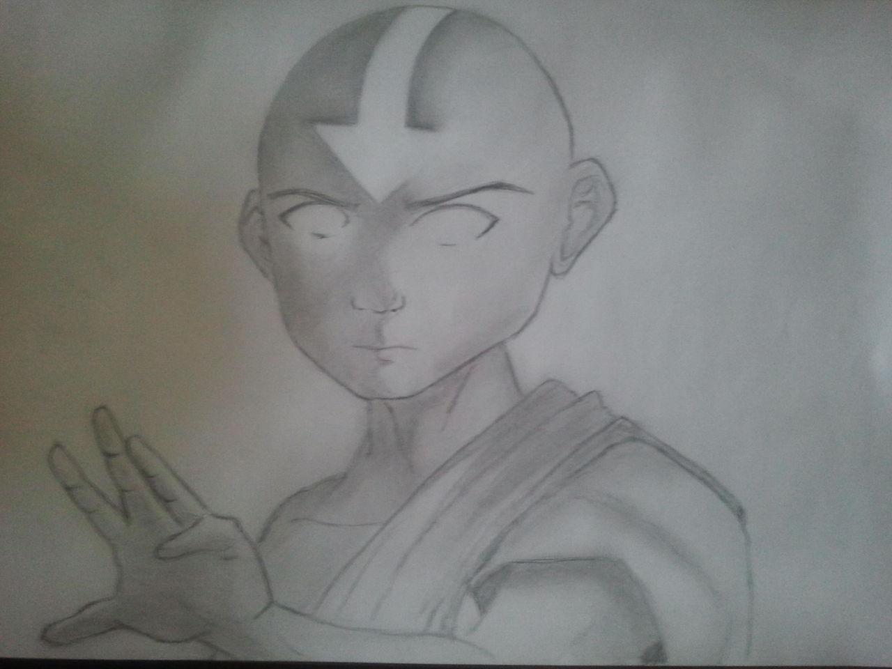 Avatar Der Herr Der Elemente Aang Zeichentrick Zeichnungen