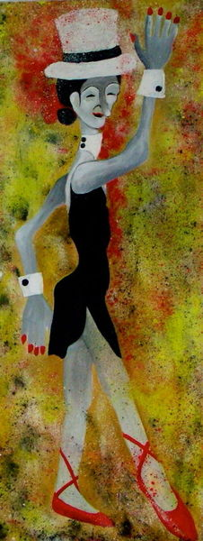 Maske, Menschen, Ballerina