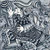 Zeichnung auf papier, Der jongleur, Tanglic, Zeichnungen