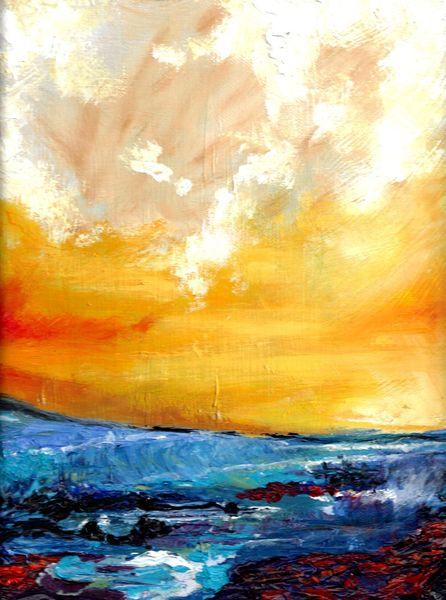 Meer, Malerei