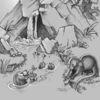 Quelle, Otter, Fischotter, Felsen