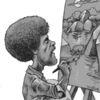 Bob ross, Karikatur, Malen, Zeichnungen
