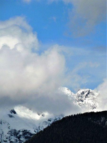 Berge, Wolken, Wetter, Landschaft, Fotografie