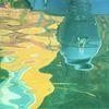 Wasser, Maderno, Spiegelung, Gardasee