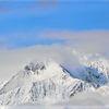 Panorama, Schnee, Winter, Berge