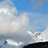 Landschaft, Berge, Wolken, Wetter