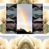 Projektion, Kristallburg, Fantasie, Landschaft