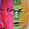 Politische farbenlehre, Frau, Gesicht, Menschen