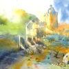Schottland, Aquarellmalerei, Aquarell,