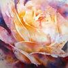 Aquarellmalerei, Blumen, Aquarell, Rose
