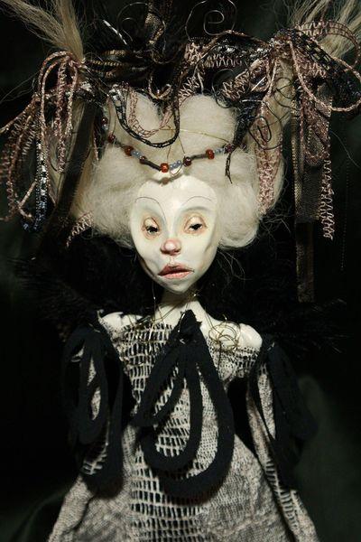 Avantgarde, Mode, Theater, Puppe, Art doll, Plastik